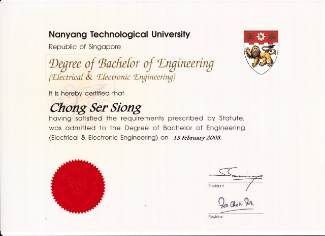 NTU Electrical & Electronics Engineering