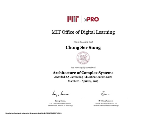 01_MIT Architecture of Complex Systems