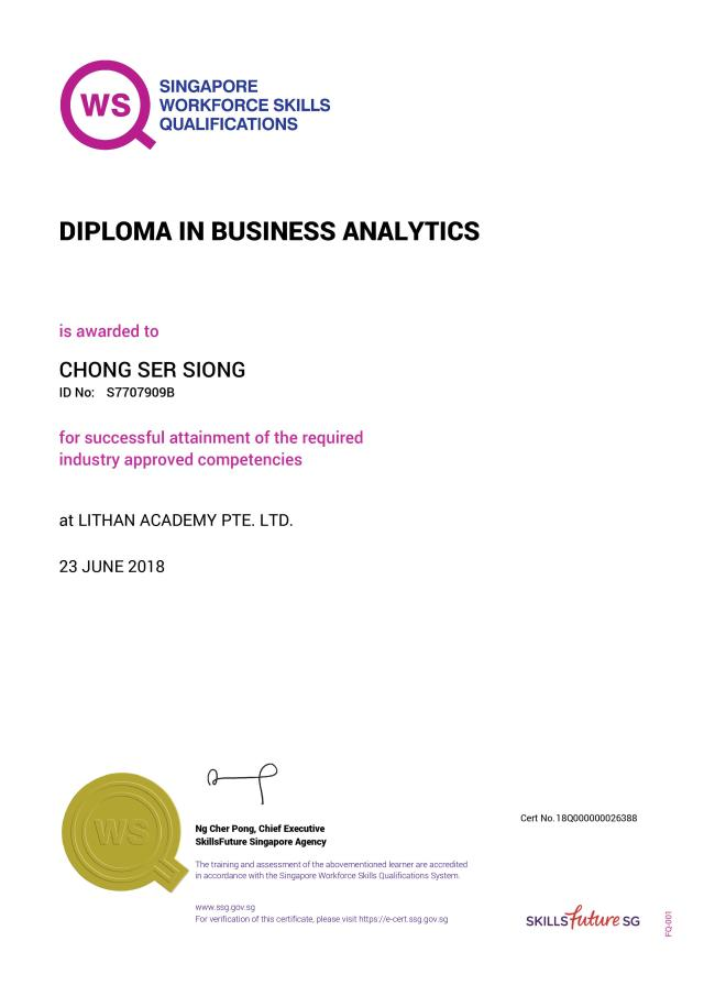 19_Diploma in Business Analytics 23Jun2018
